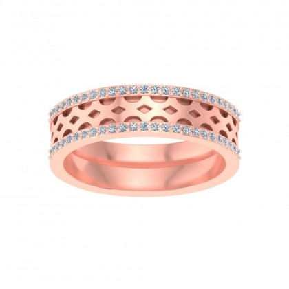 SWATI DIAMOND COUPLES RING in 18K Gold