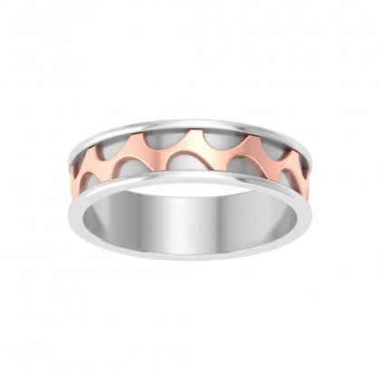 AYUSHI BANDS RING in 18K Gold