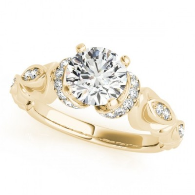ANABELLA ENGAGEMENT RING in 18K Yellow Gold