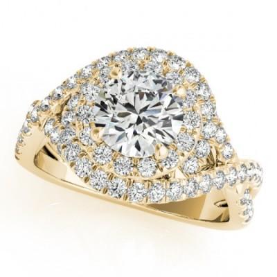 LIYA ENGAGEMENT RING in 18K Yellow Gold