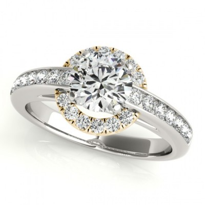 QUINN ENGAGEMENT RING in 18K Yellow Gold