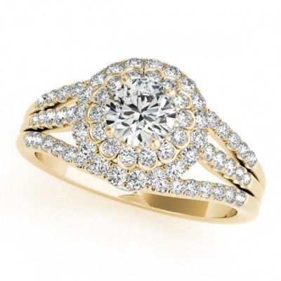 HEATHER ENGAGEMENT RING in 18K Yellow Gold