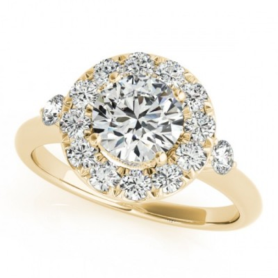 AVNI ENGAGEMENT RING in 18K Yellow Gold