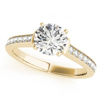 KIMORA ENGAGEMENT RING in 18K Yellow Gold