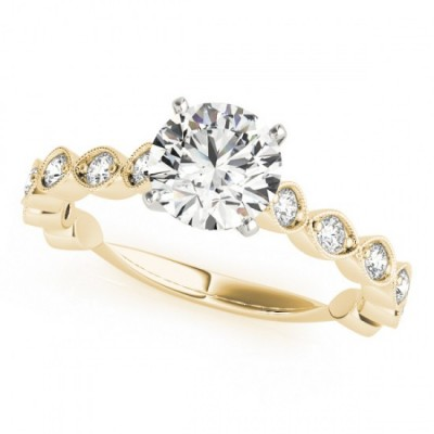 JAYLYN ENGAGEMENT RING in 18K Yellow Gold