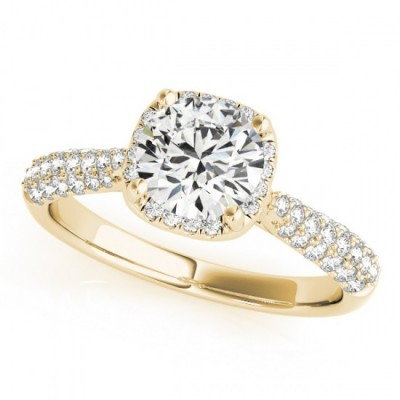 LOREN ENGAGEMENT RING in 18K Yellow Gold
