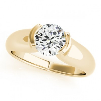 IRA ENGAGEMENT RING in 18K Yellow Gold