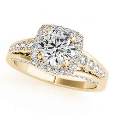 STEPHANY ENGAGEMENT RING in 18K Yellow Gold