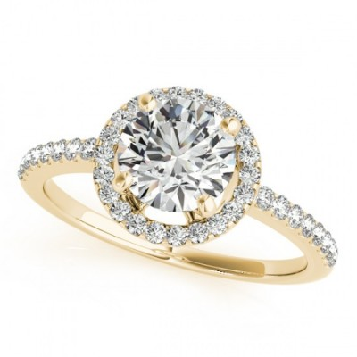 BETTY ENGAGEMENT RING in 18K Yellow Gold