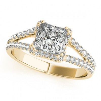 AYLA ENGAGEMENT RING in 18K Yellow Gold