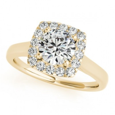 CAROL ENGAGEMENT RING in 18K Yellow Gold