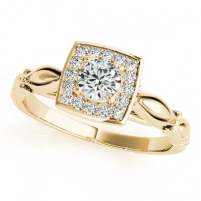 JANICE ENGAGEMENT RING in 18K Yellow Gold