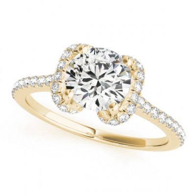 XYLO ENGAGEMENT RING in 18K Yellow Gold