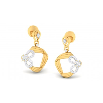 REMY DIAMOND DROPS EARRINGS in 18K Gold