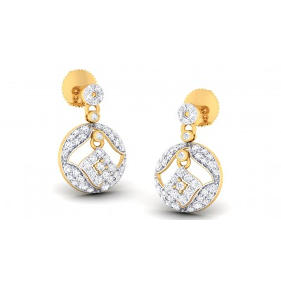NIVERTA DIAMOND DROPS EARRINGS in 18K Gold