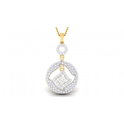 LIYAH DIAMOND FASHION PENDANT in 18K Gold