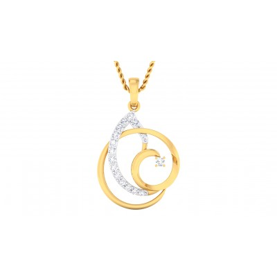 AVNITA DIAMOND FASHION PENDANT in 18K Gold