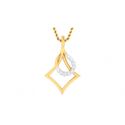 AJAYA DIAMOND FASHION PENDANT in 18K Gold