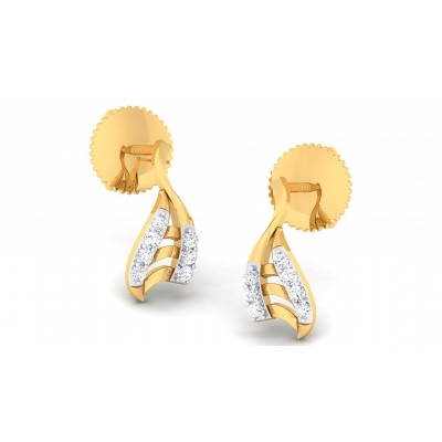 SUHANI DIAMOND STUDS EARRINGS in 18K Gold
