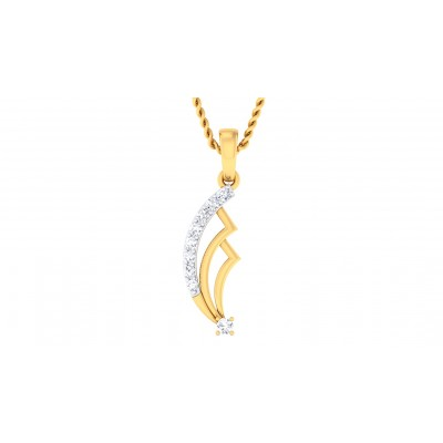 NAYELI DIAMOND FASHION PENDANT in 18K Gold