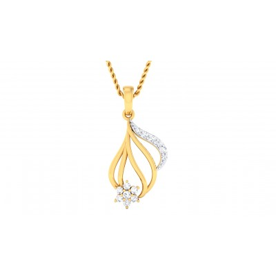 BLAIR DIAMOND FASHION PENDANT in 18K Gold