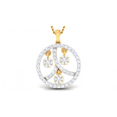 RASNA DIAMOND FASHION PENDANT in 18K Gold