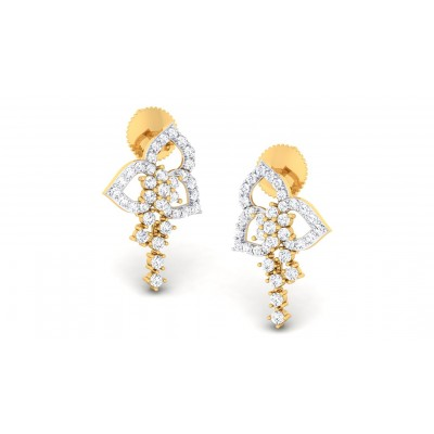 PETRA DIAMOND DROPS EARRINGS in 18K Gold