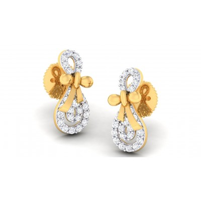 TANUPA DIAMOND DROPS EARRINGS in 18K Gold