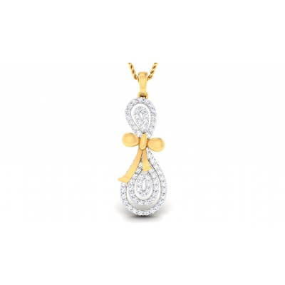 PARKER DIAMOND FASHION PENDANT in 18K Gold