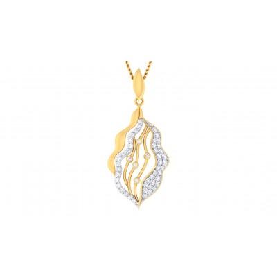 LUCIA DIAMOND FASHION PENDANT in 18K Gold