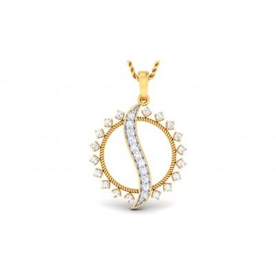 VANANI DIAMOND FASHION PENDANT in 18K Gold