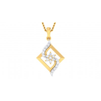 SEHAJ DIAMOND FASHION PENDANT in 18K Gold