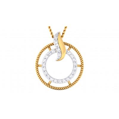 AMAYAH DIAMOND FASHION PENDANT in 18K Gold