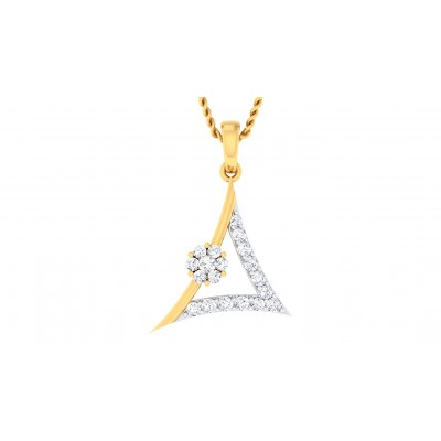 TAMIRA DIAMOND FASHION PENDANT in 18K Gold