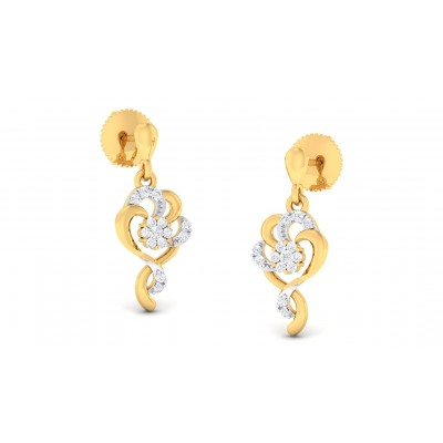 DAYAMI DIAMOND DROPS EARRINGS in 18K Gold