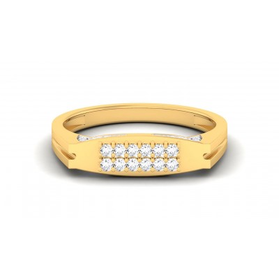 REVATHI DIAMOND CASUAL RING in 18K Gold
