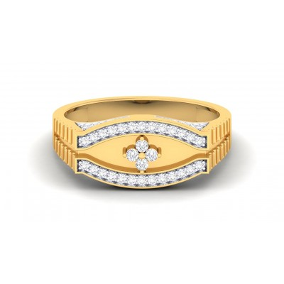 BRANDY DIAMOND CASUAL RING in 18K Gold