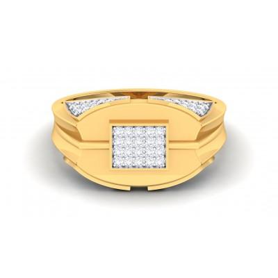 ALEX DIAMOND CASUAL RING in 18K Gold