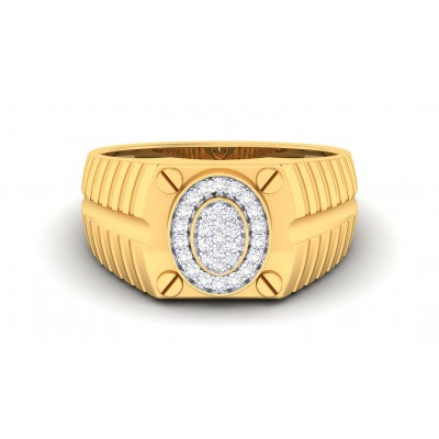 VARUNA DIAMOND BANDS RING in 18K Gold