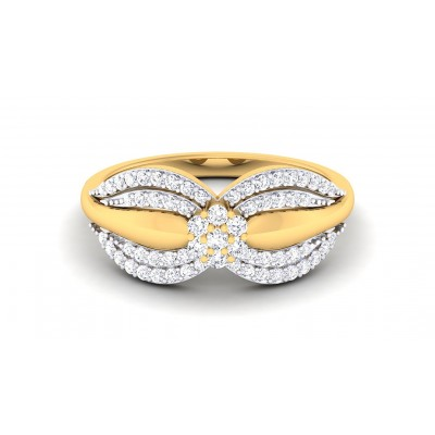 RITSIKA DIAMOND COCKTAIL RING in 18K Gold