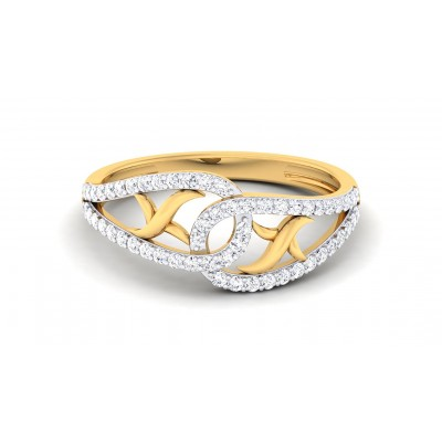 AGATHA DIAMOND COCKTAIL RING in 18K Gold