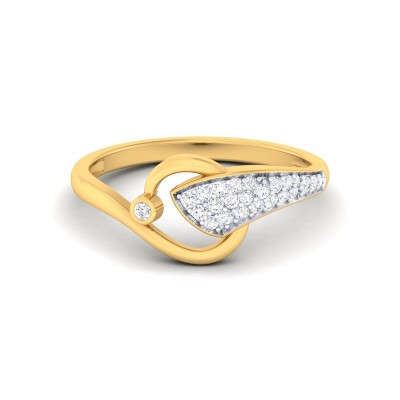 TARLI DIAMOND CASUAL RING in 18K Gold