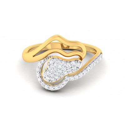 KASHISH DIAMOND COCKTAIL RING in 18K Gold