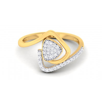 SUNAINA DIAMOND COCKTAIL RING in 18K Gold