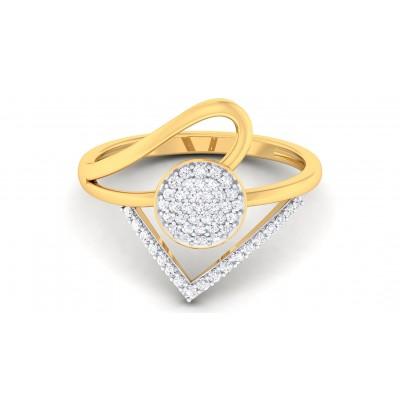 DEBORA DIAMOND COCKTAIL RING in 18K Gold