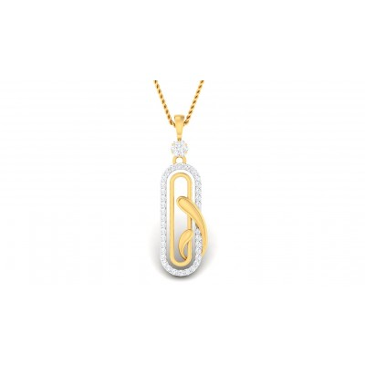 ARYA DIAMOND FASHION PENDANT in 18K Gold