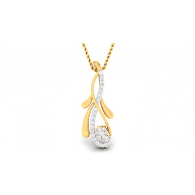 SHAILA DIAMOND FASHION PENDANT in 18K Gold