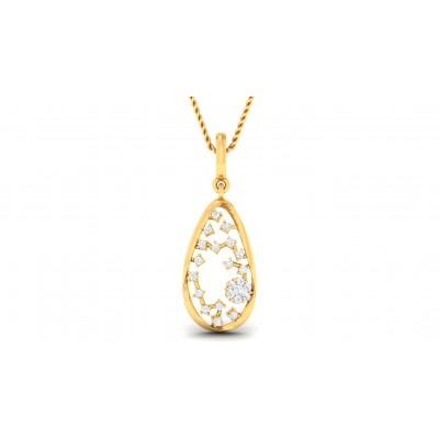 ANVITA DIAMOND FASHION PENDANT in 18K Gold