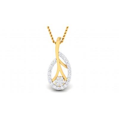ASHWINA DIAMOND FASHION PENDANT in 18K Gold