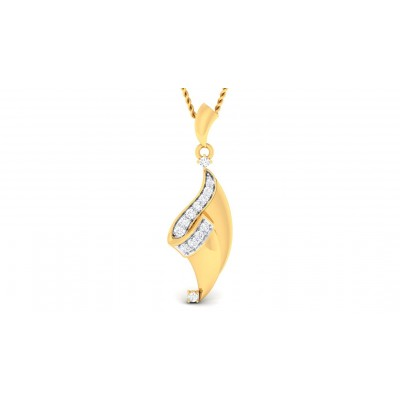 LAINEY DIAMOND FASHION PENDANT in 18K Gold